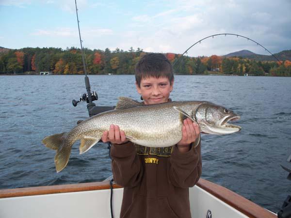 Rod bender charters fishing lake george ny for Freshwater fishing ny